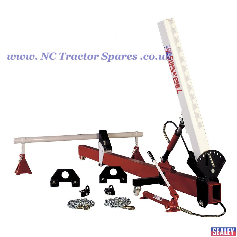 Straightener Kit 10tonne Variable Upright with Hydraulics